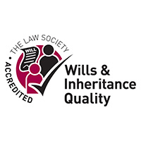 Law Society Wills & Inheritance Quality Accredited logo